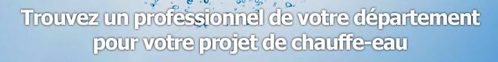 installation chauffe-eau  à Château-d'Olonne